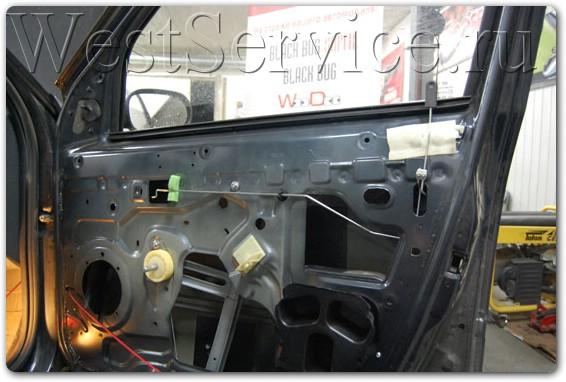 установка центрального замка на рено дастер